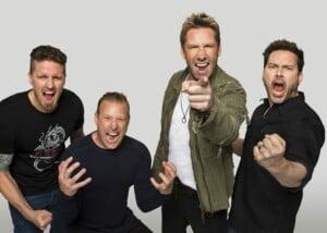 Valmistautukaa, hyvät ihmiset: Nickelback vihjailee jotakin huomionarvoista olevan tekeillä