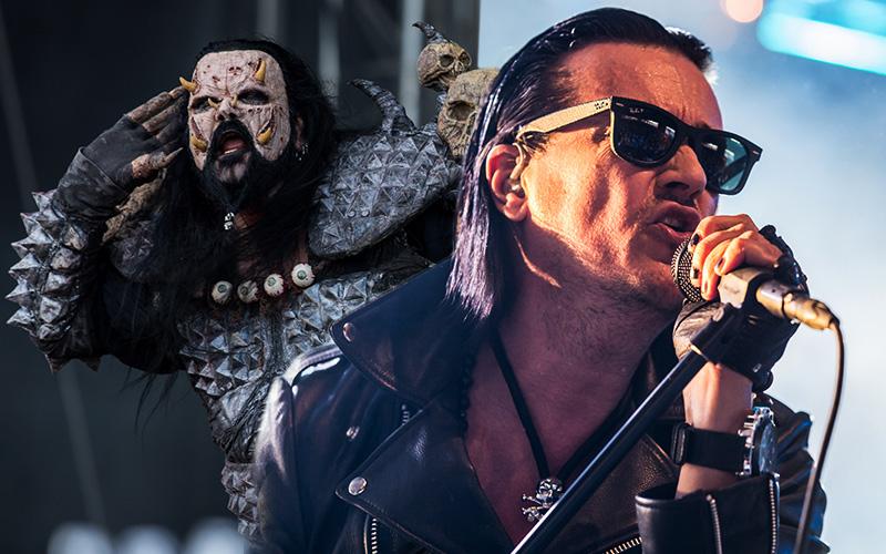 Lordi Ja The 69 Eyes Tositoimissa